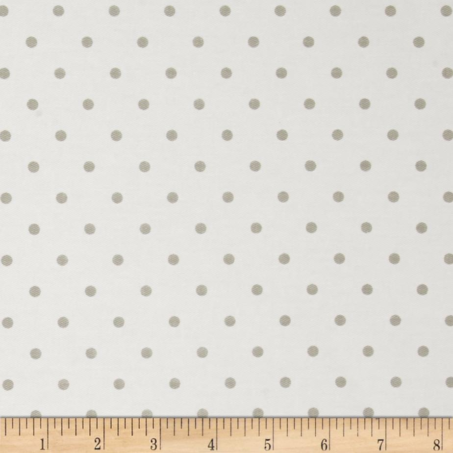 Premier Prints Mini Dots Twill White/Snowy Gray