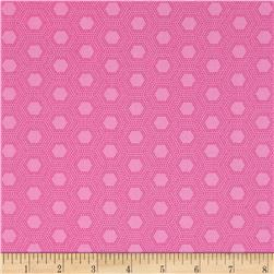 Jungle Things Hexies Pink