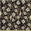 Neutral Elegance Florals Charcoal