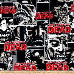 The Walking Dead Fleece Zombie Pack Black