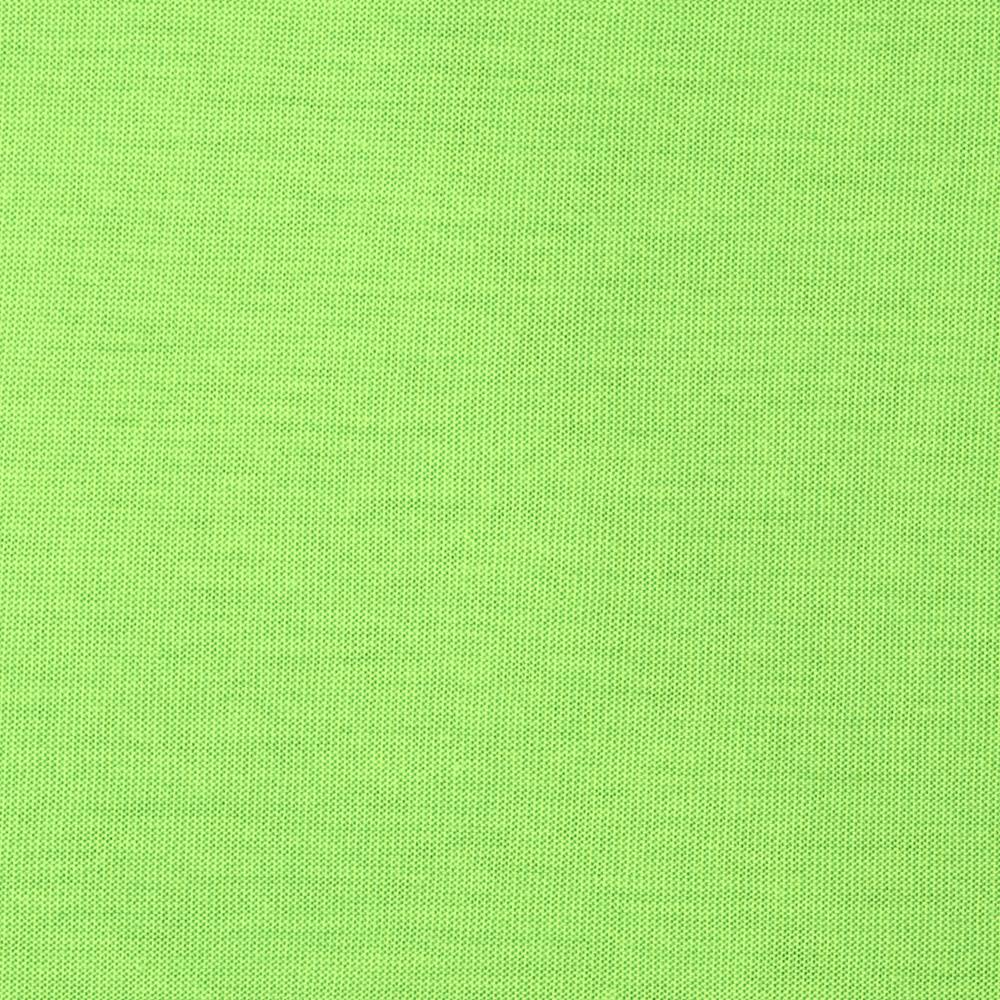 Stretch Rayon Blend Jersey Knit Solid Spring Green