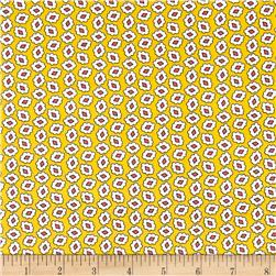 Windham Playdate Jewel Floral  Yellow