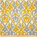 Premier Prints Indoor/Outdoor Alex Yellow/Grey