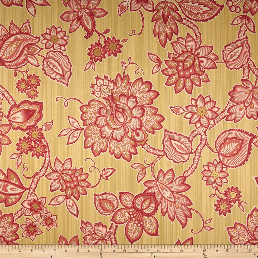 Waverly Floral Flair Twill Golden