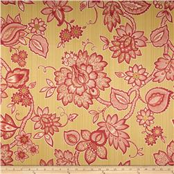 Waverly Floral Flair Twill Golden Fabric
