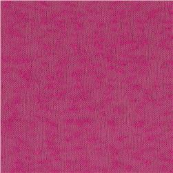Stretch Tissue Slub Hatchi Knit Magenta