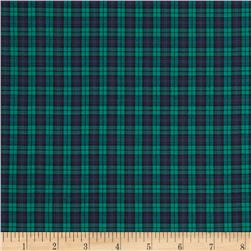 Tartan Plaid Navy/Green