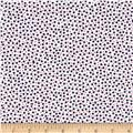 Kanvas Love American Style Ditsy Dots White