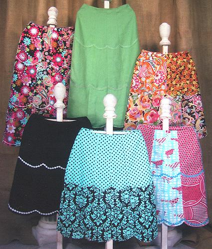 Serendipity Studios Tiffany Skirt Pattern