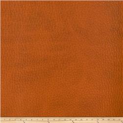 Fabricut Alloy Faux Leather Pumpkin