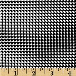 Moda First Crush Houndstooth Black