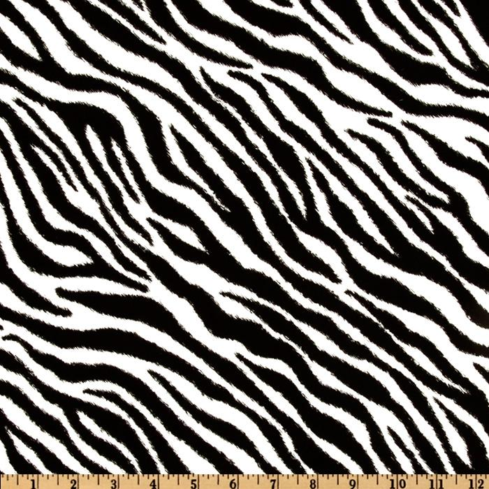 Call of the Wild Zebra Black/White
