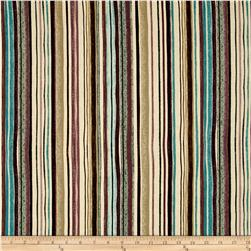 Interlude Pencil Stripe Turquoise/Plum