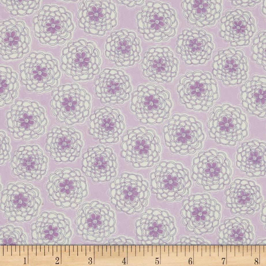 Cotton Candy Flannel Mums Lavender