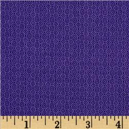 The Color Collection Squiggle Stripe Purple