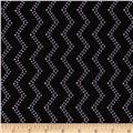 Modern Age Tone-on-Tone Chevron Black