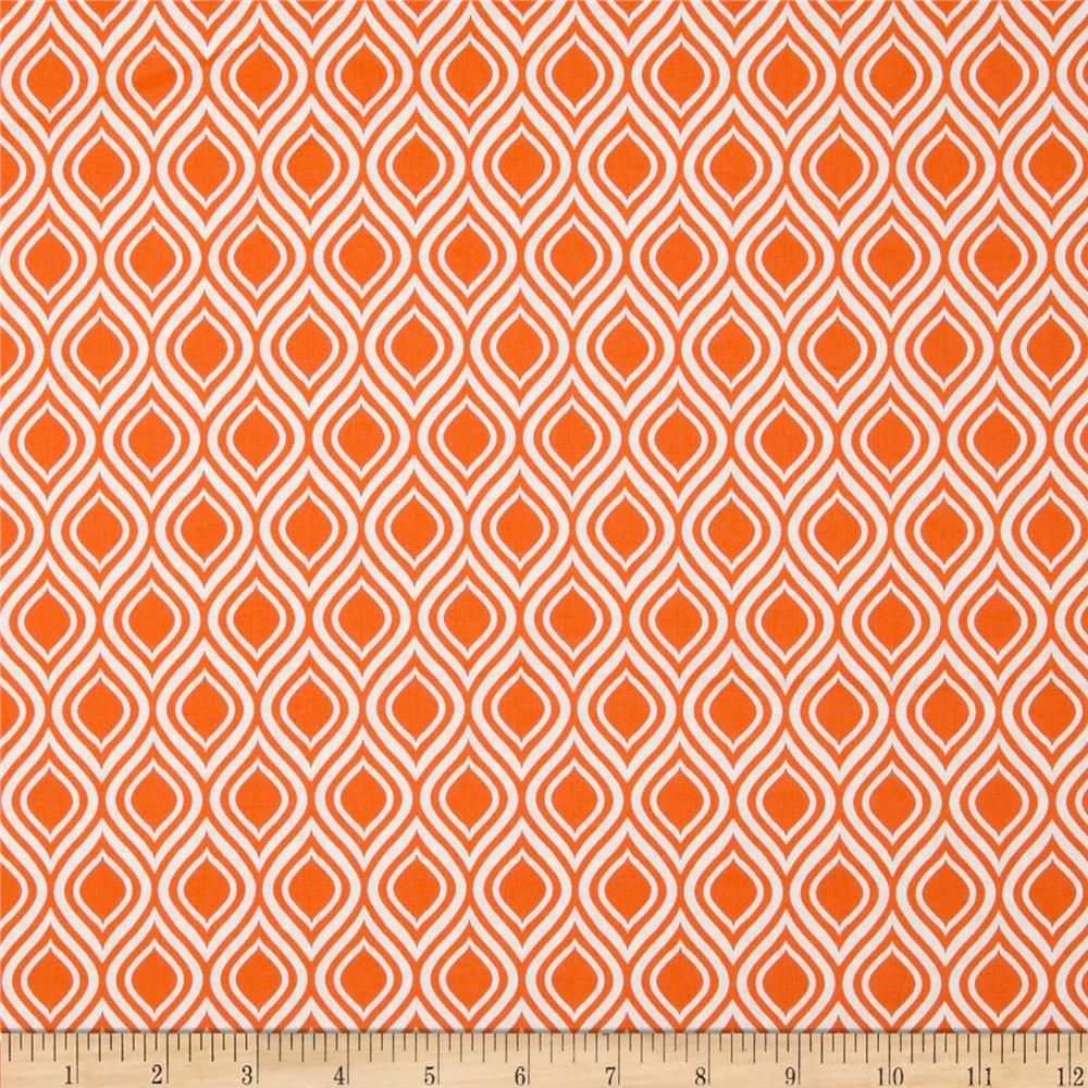 Metro Living Flame Stripe Orange