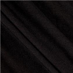 Rayon Spandex Jersey Knit Pitch Black