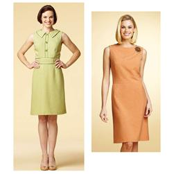 Kwik Sew Collared & Boat Neck Dresses Pattern