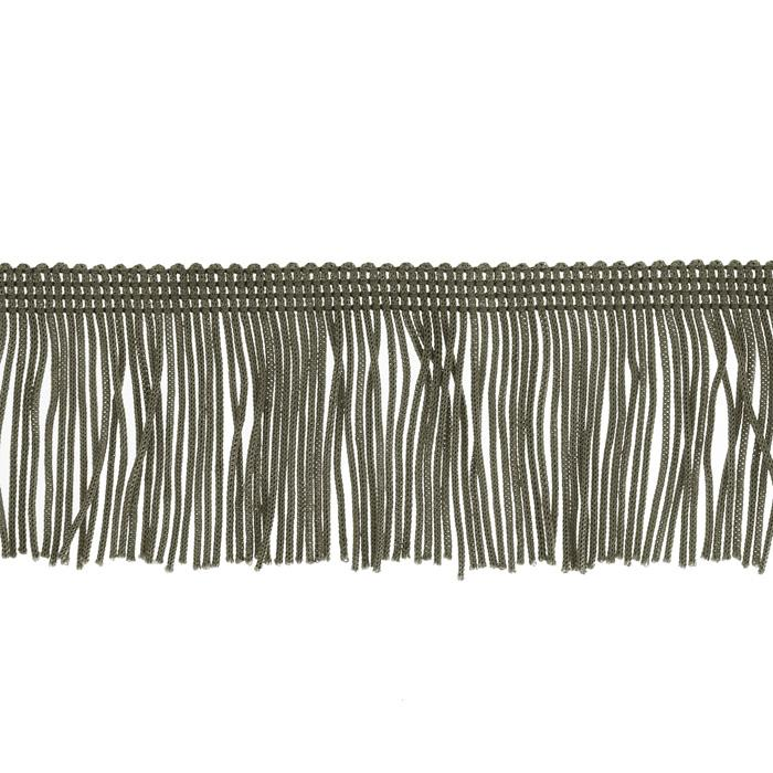 "Expo 2"" Chainette Fringe Pewter"