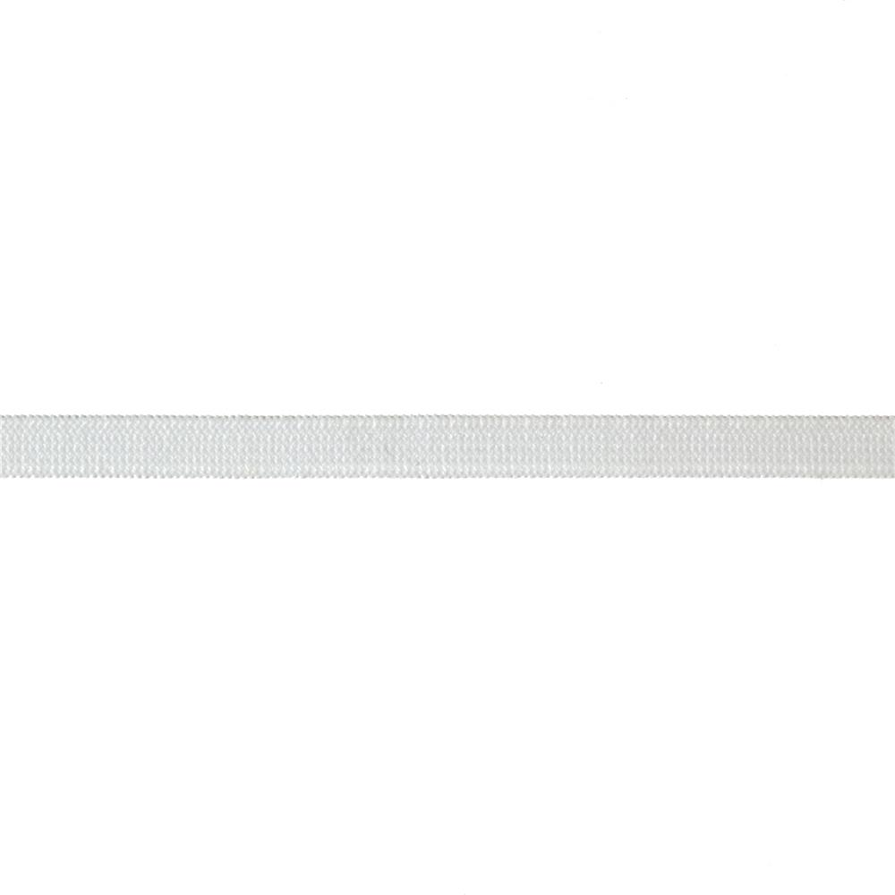 "1/4"" Knit Elastic White - By the Yard"