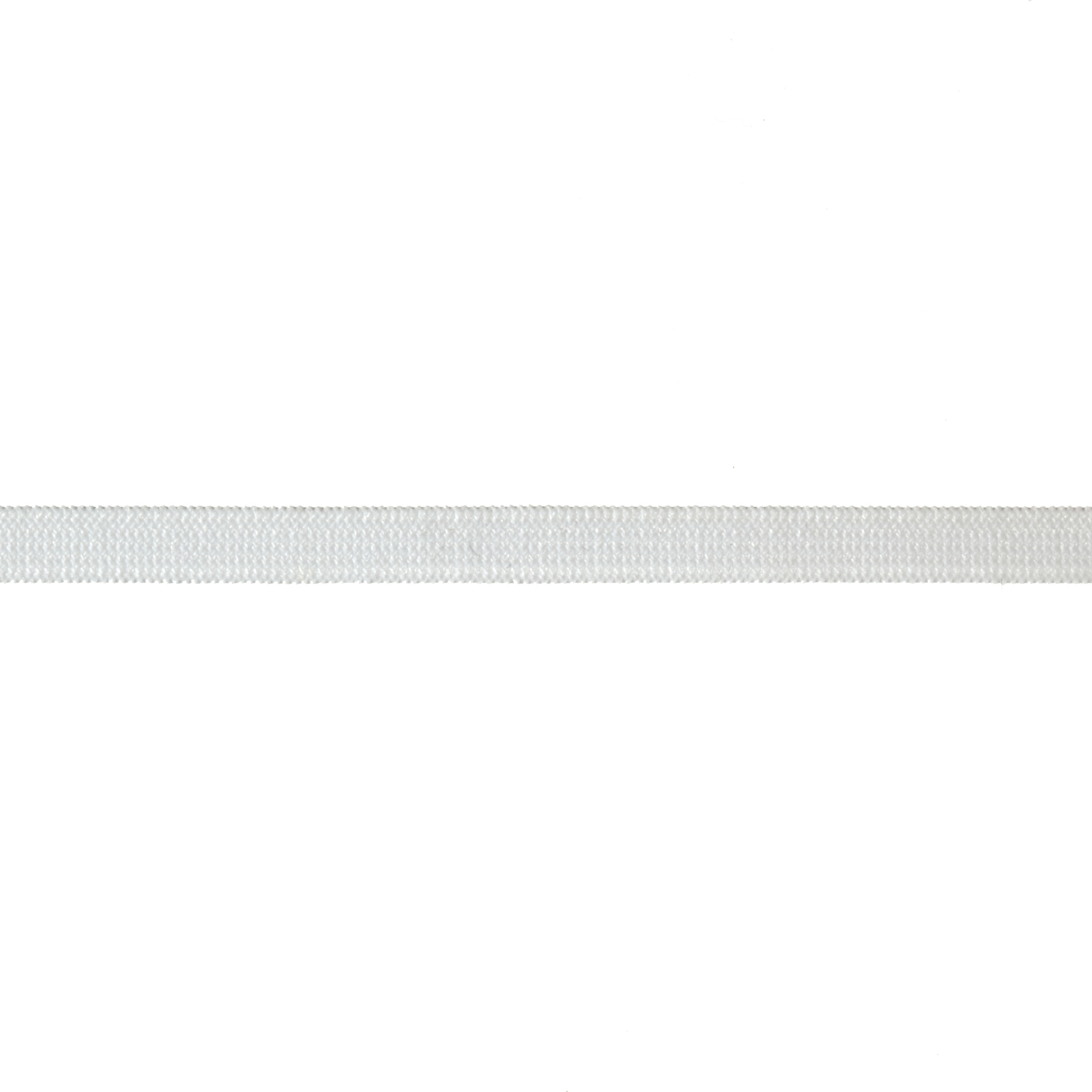 1/4'' Knit Elastic White - By the Yard