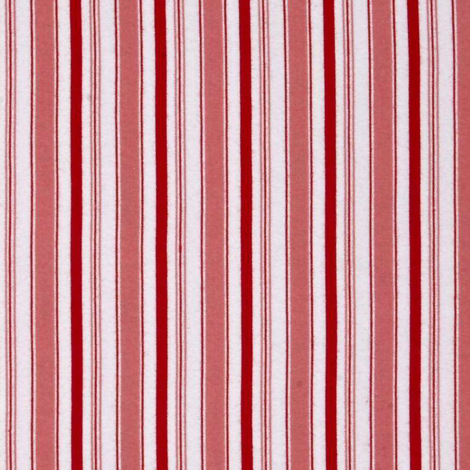 Riley Blake Cozy Christmas Flannel Stripe Pink Fabric By The Yard