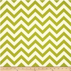 Premier Prints Sheeting Zig Zag Village Green Fabric