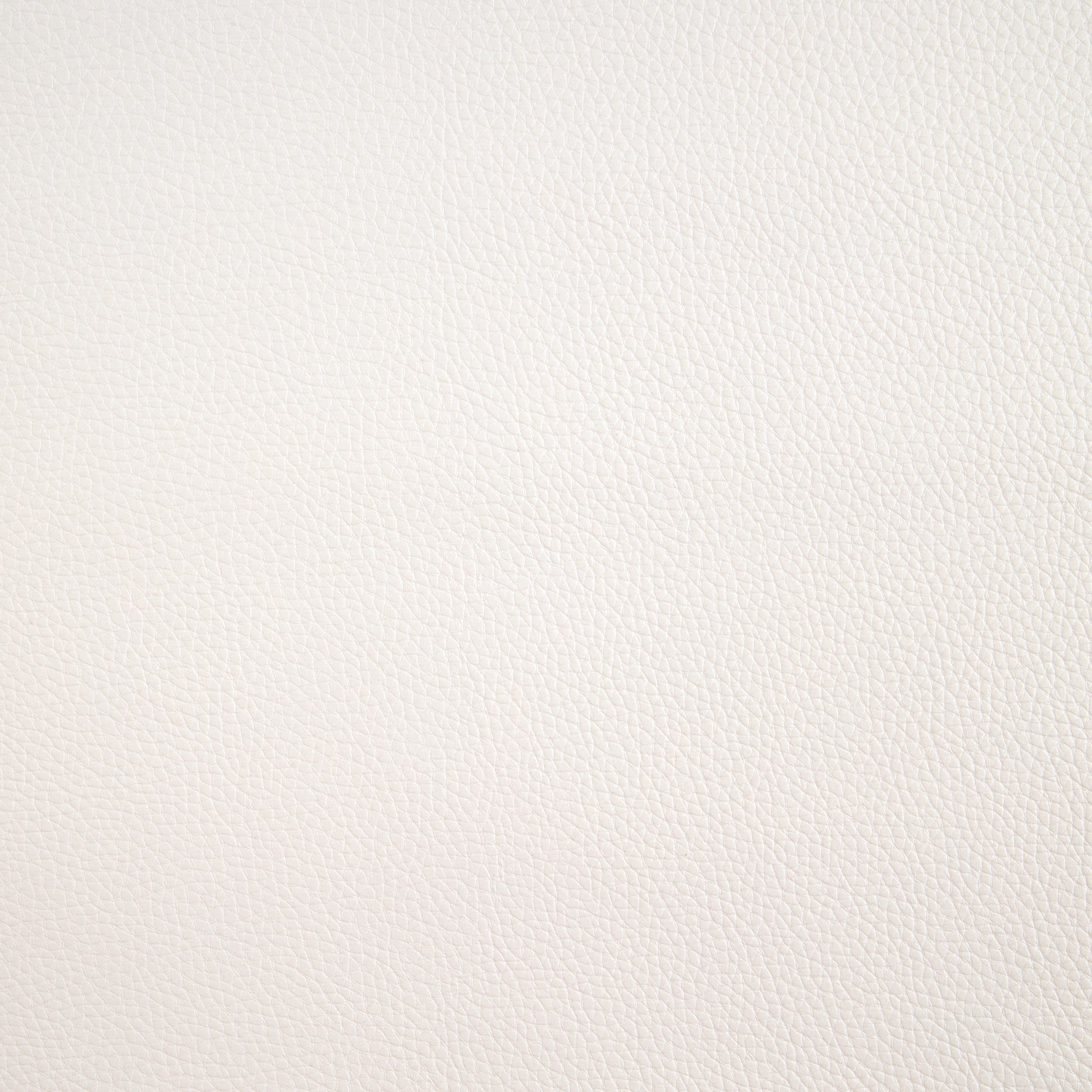 Cabo Faux Leather White Fabric