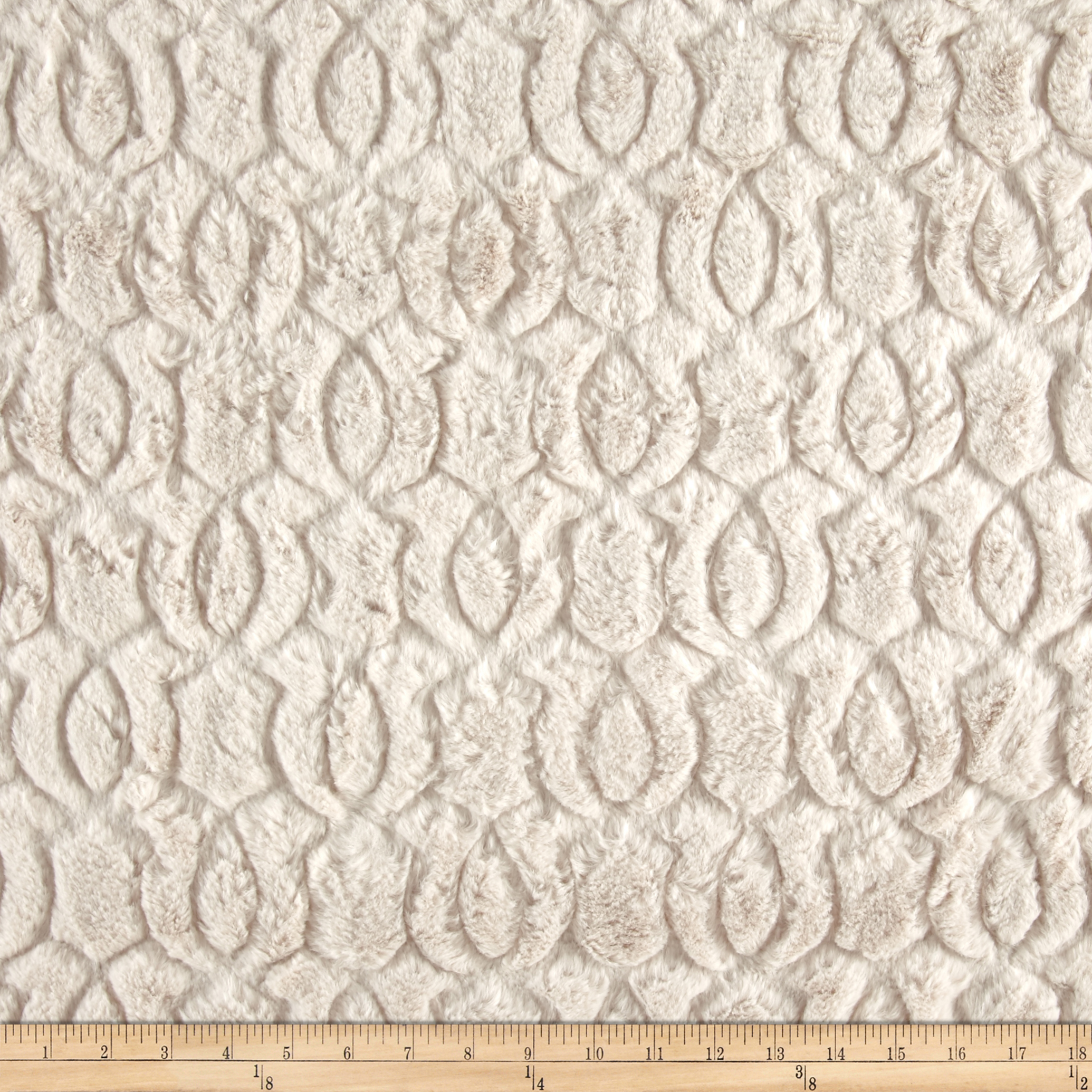 Minky Moscow Snuggle Sand Fabric by E.Z Fabric in USA