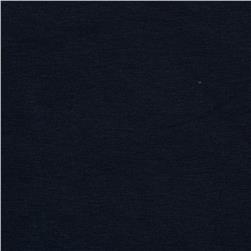 Dakota Stretch Rayon Jersey Knit Navy Fabric