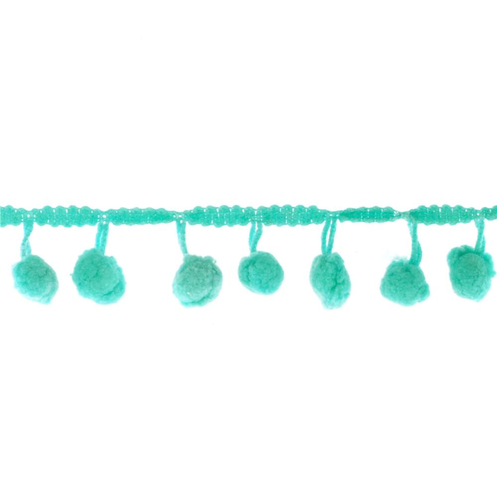 Riley Blake 1/2'' Regular Pom Pom Trim Teal
