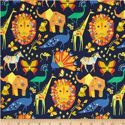Michael Miller Origami Oasis Pride Navy