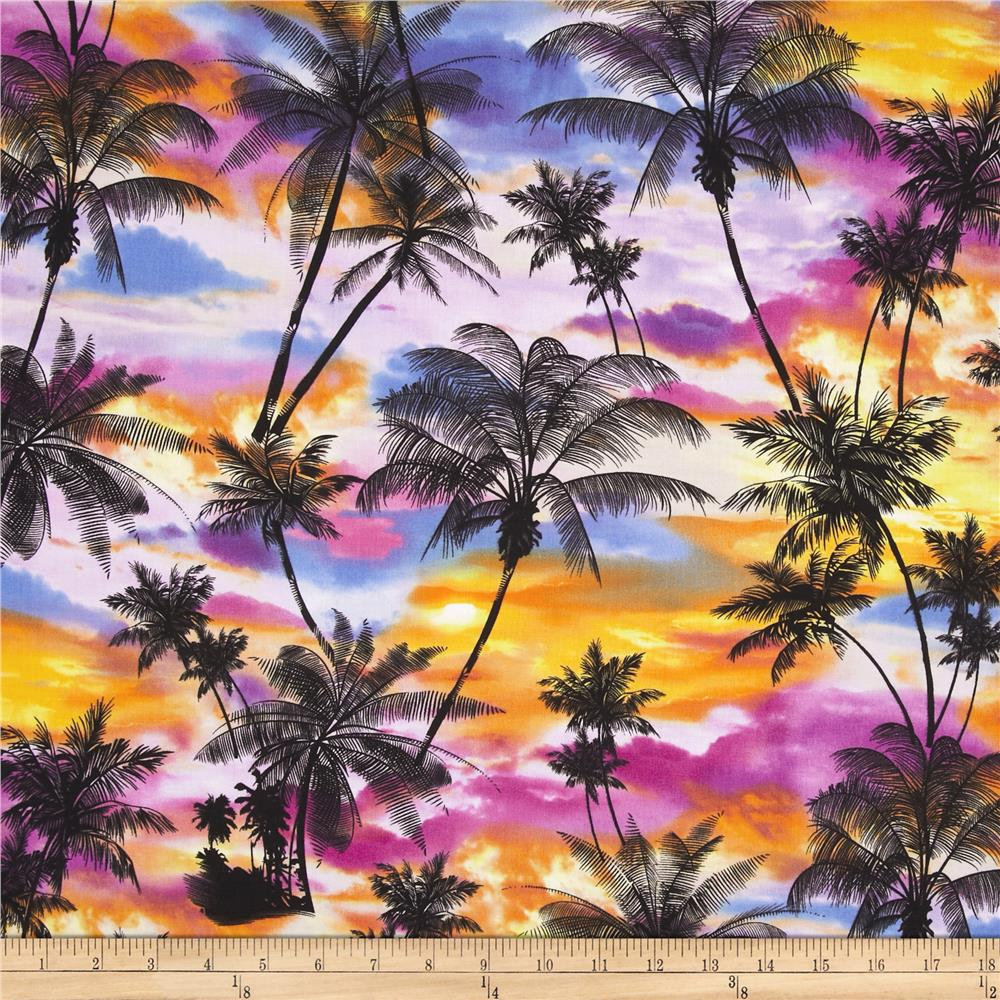 Ocean Avenue Tropical Sunset Multi