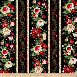 Crimson & Holly Repeating Stripe Multi