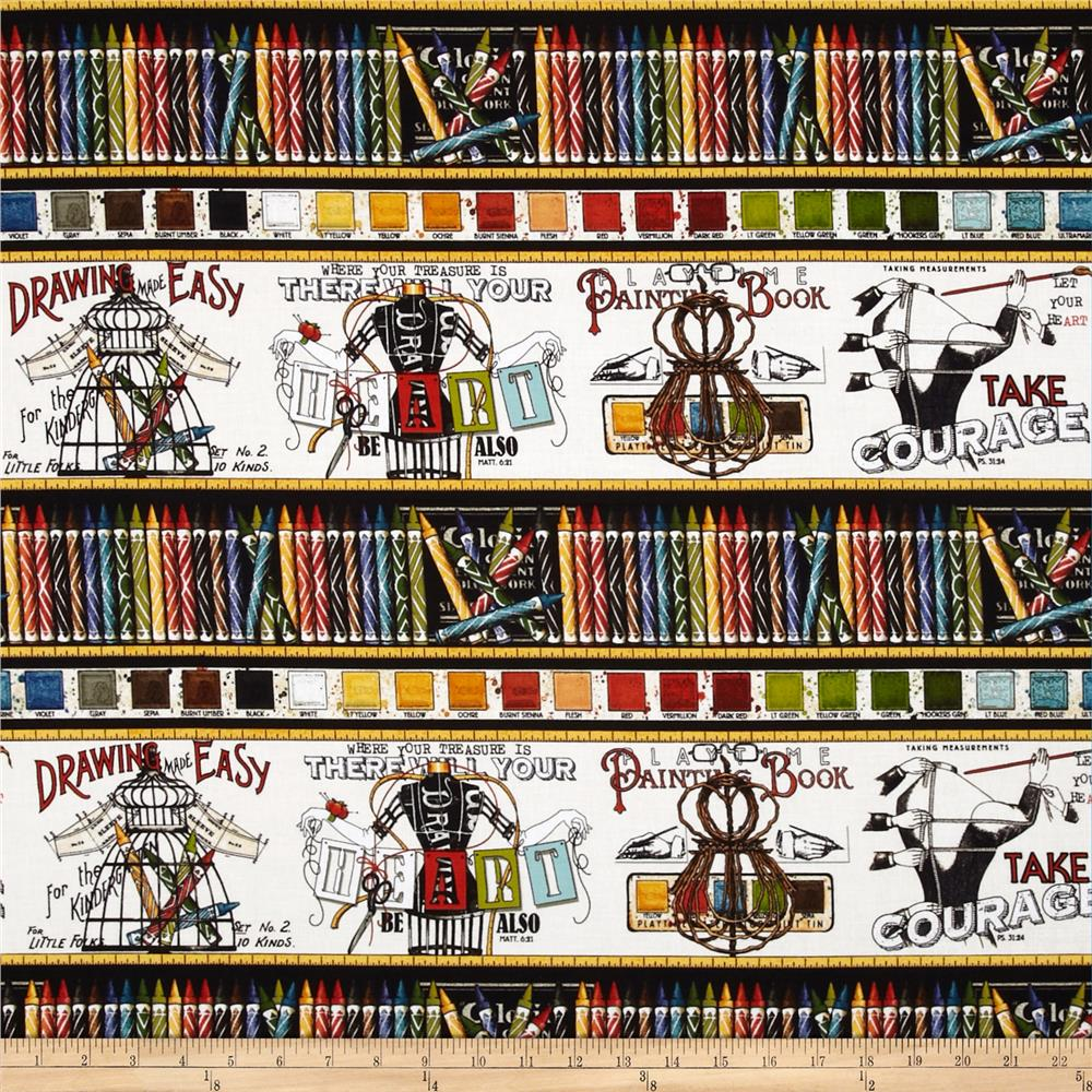 Draw near scenic stripe multi discount designer fabric for Fabric by the yard near me