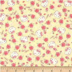 Hello Kitty Roses Yellow