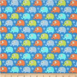 Michael Miller Baby Flannel Zoo Littles -It's a