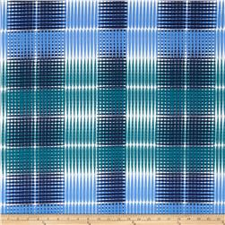 Ty Pennington Home Decor Sateen Fall 11 Plaid Blue