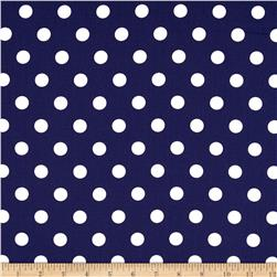 Moda Dottie Medium Dots Royal Fabric