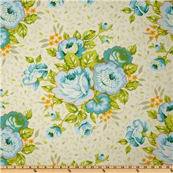 Heather Bailey Garden District St. Charles Bouquet Sateen Blue