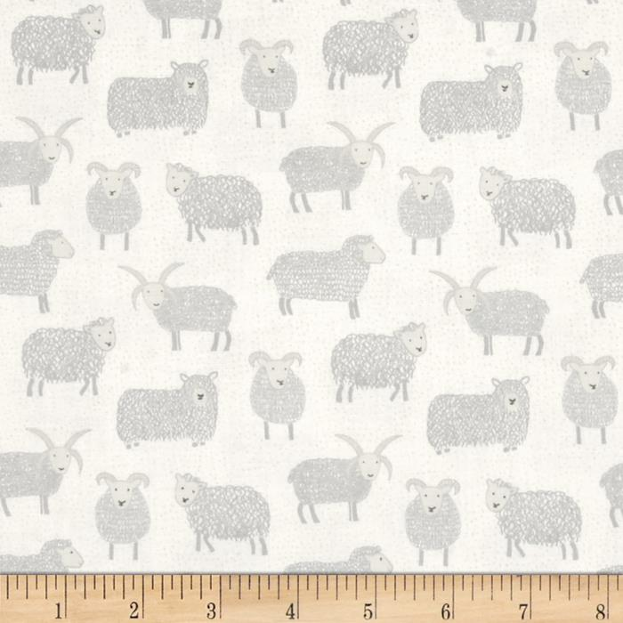 Lewis & Irene Country Life Woolly Sheep Snow White