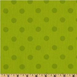 Moda 108'' Dottie Quilt Backing Tonal Lime
