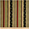 Timeless Treasures Metallic Zen Oasis Ornate Stripe Multi