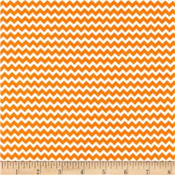 Henry Glass & Co. Panda-monium Flannel Zig Zag Orange