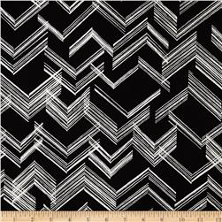 Simply Sterling Metallic The Right Angle Black/Silver