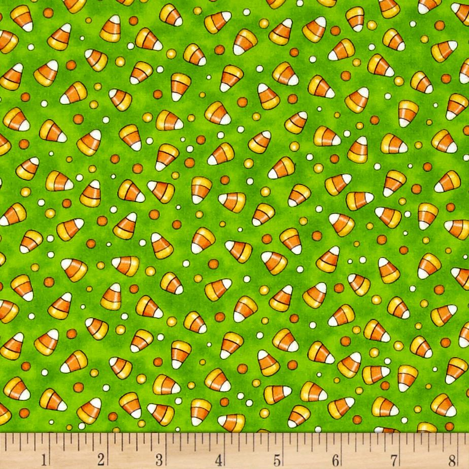 Creepy Hollow Candy Corn Green