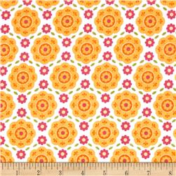 Riley Blake Summer Song 2 Flannel Floral Yellow