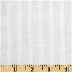 Gibson Vertical Striped Sheer White