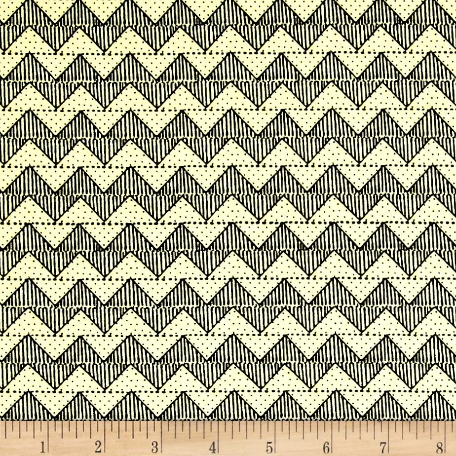 Tidings Of Great Joy Block Chevron Cream